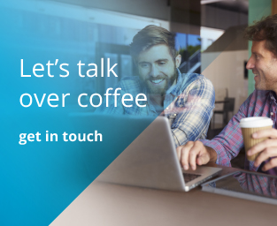 Let's talk over coffee - get in touch